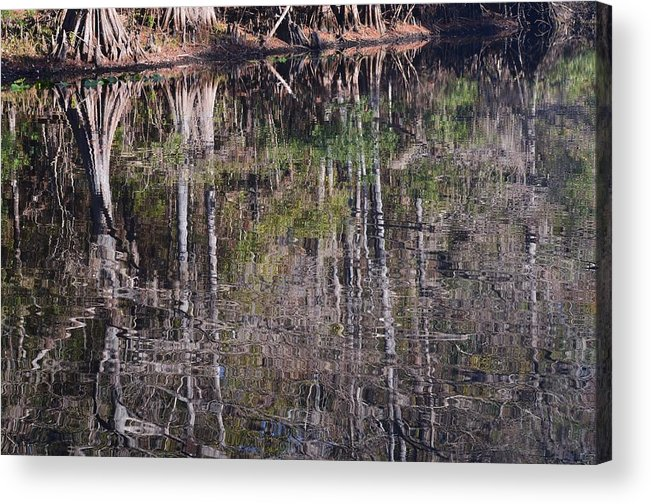 Gentle Ripples Acrylic Print featuring the photograph Gentle Ripples by Warren Thompson
