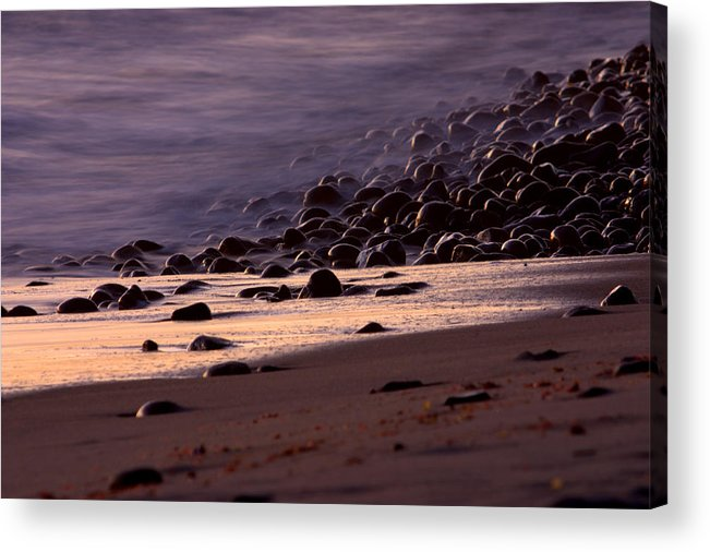 Landscape Acrylic Print featuring the photograph Ghost Tide by Brad Scott