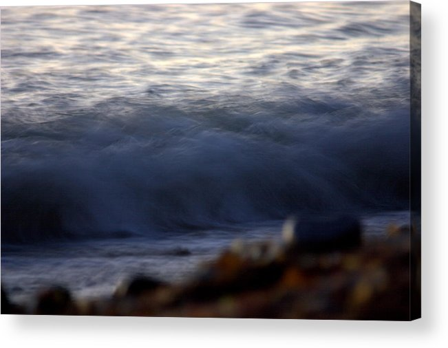 Landscape Acrylic Print featuring the photograph Ghost Wave by Brad Scott