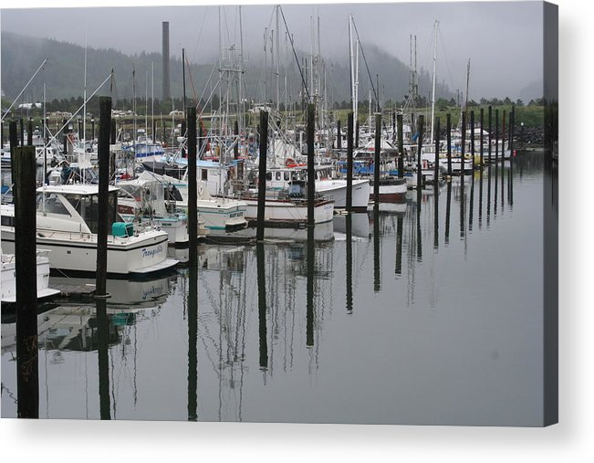 Marina Acrylic Print featuring the photograph Girabaldi Marina Dm 1005 by Mary Gaines