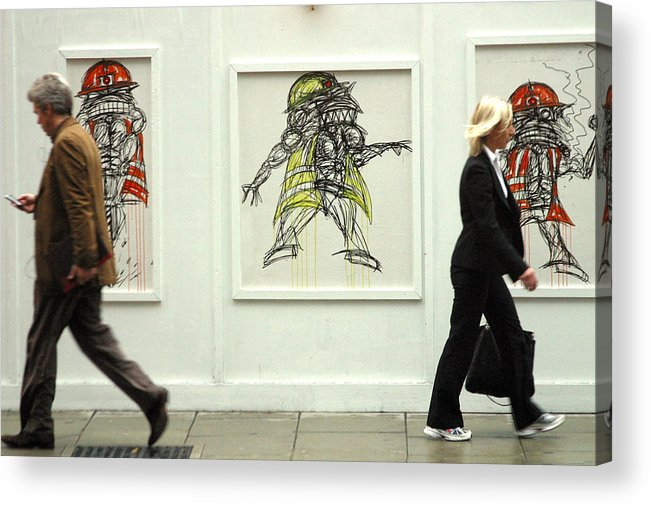 Jez C Self Acrylic Print featuring the photograph Go That Was No That Way by Jez C Self