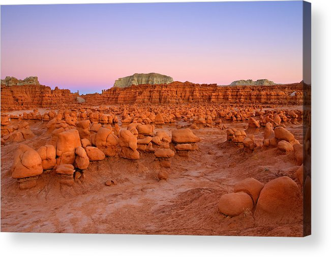 Goblin Acrylic Print featuring the photograph Goblin Glow by Mike Dawson