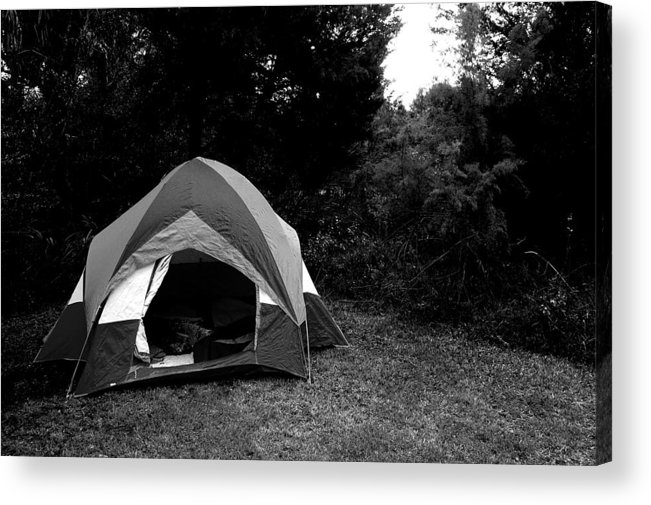 Camping Acrylic Print featuring the photograph Gone Camping. by Ashley Knowles