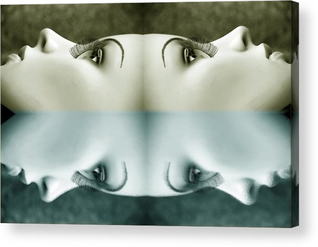 Mannequins Acrylic Print featuring the photograph Gone To The Other Side by Jez C Self