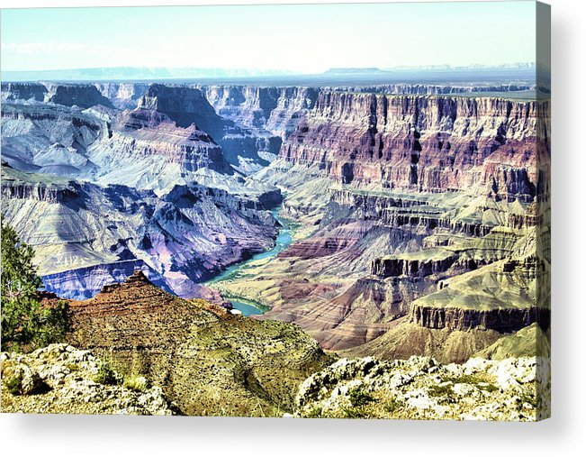 Grand Canyon Acrylic Print featuring the photograph Grand Canyon 2272 by Sharon Broucek