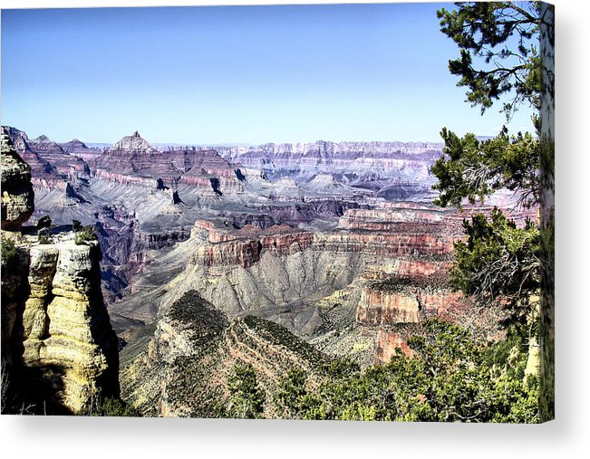 Grand Canyon Acrylic Print featuring the photograph Grand Canyon 2277 by Sharon Broucek