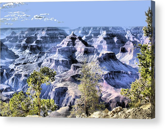 Grand Canyon Acrylic Print featuring the photograph Grand Canyon 2284 by Sharon Broucek