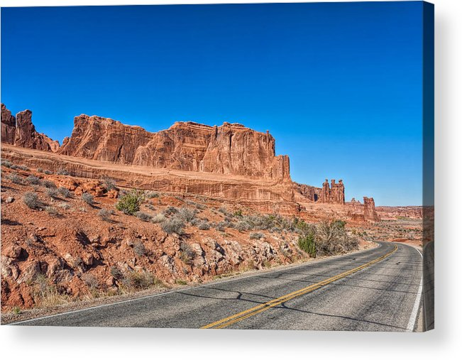 Landscape Acrylic Print featuring the photograph Grand Entrance by John M Bailey