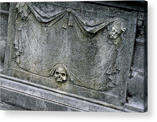 Grave Acrylic Print featuring the photograph Grave Business by Robert Joseph