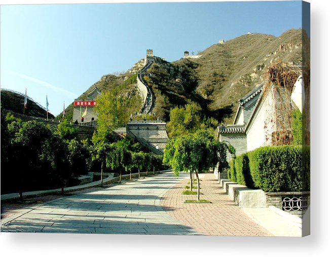 Landscape Acrylic Print featuring the photograph Great Wall Of China by Ralph Perdomo