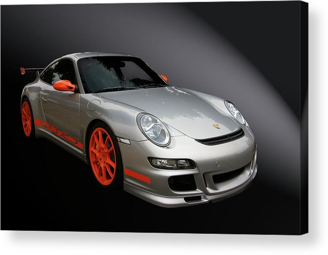 Porsche Acrylic Print featuring the photograph Gt3 Rs by Bill Dutting