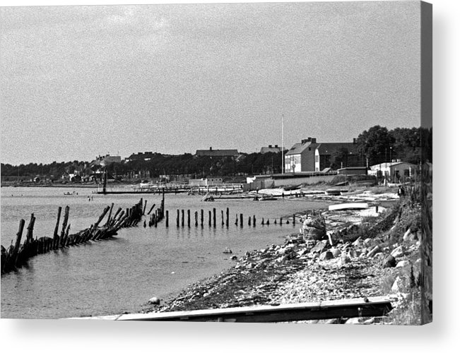 Europe Acrylic Print featuring the photograph Halsingborg Sweden 3 by Lee Santa