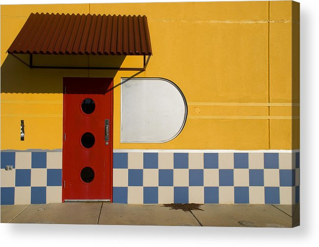 Architecture Acrylic Print featuring the photograph Happy Days by Skip Hunt