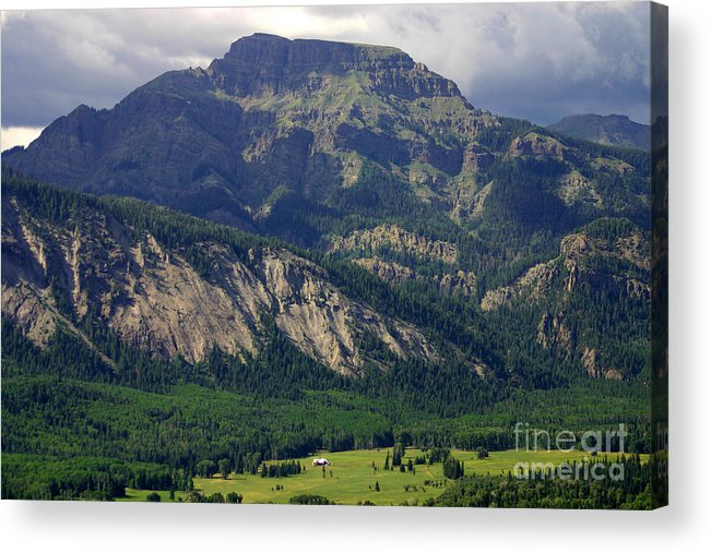 Landscape Acrylic Print featuring the photograph Happyhour Point by Patrick Godfrey