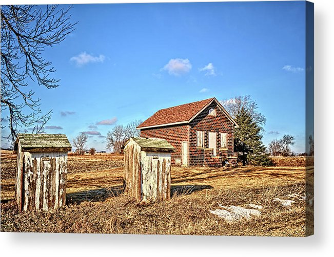School Acrylic Print featuring the photograph Hardin County School by Bonfire Photography