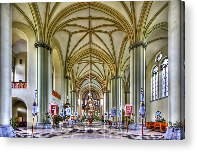 Church Acrylic Print featuring the photograph Heavenly by Evelina Kremsdorf