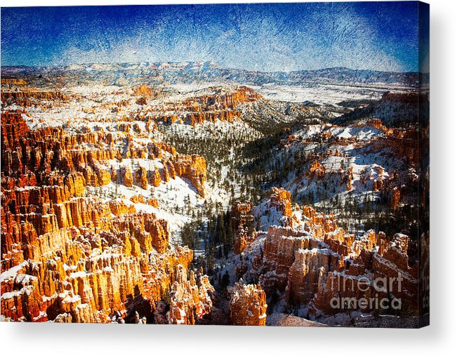 Outdoors Acrylic Print featuring the photograph Hoodoo Nation I by Irene Abdou