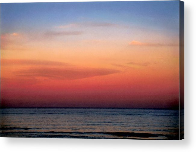 Landscape Acrylic Print featuring the photograph Horizontal Number 1 by Sandra Gottlieb