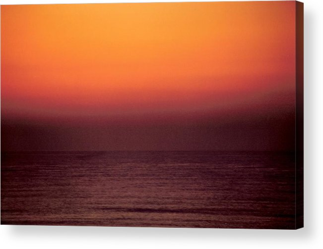 Landscape Acrylic Print featuring the photograph Horizontal Number 14 by Sandra Gottlieb