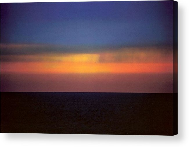 Landscape Acrylic Print featuring the photograph Horizontal Number 17 by Sandra Gottlieb