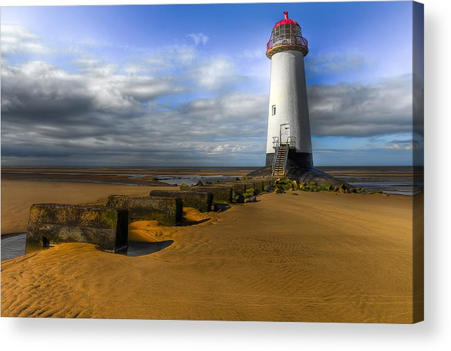 Lighthouse Acrylic Print featuring the photograph House Of Light by Adrian Evans