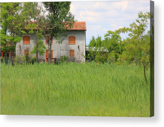 Acrylic Print featuring the photograph House On Torcello In Venice by Michael Henderson