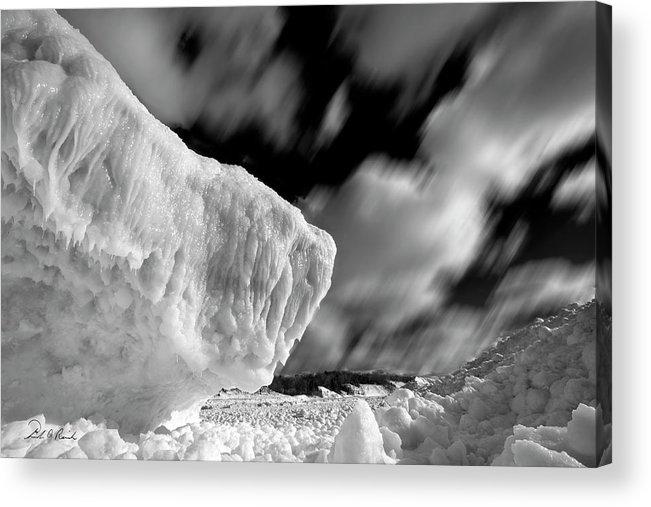 Photography Acrylic Print featuring the photograph Ice Giant by Frederic A Reinecke