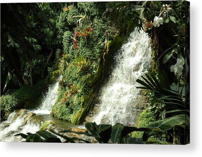 Waterfalls Acrylic Print featuring the photograph Immense Beauty by Lori Mellen-Pagliaro