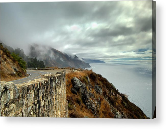 Nature Acrylic Print featuring the photograph In The Clouds by Mike Irwin