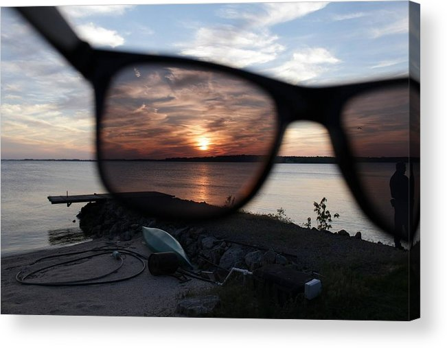 Landscape Acrylic Print featuring the photograph In The Eye Of The Beholder by Theresa Bedell