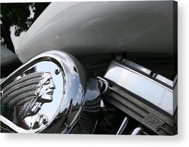 Indian Acrylic Print featuring the photograph Indian by Cathy Weaver
