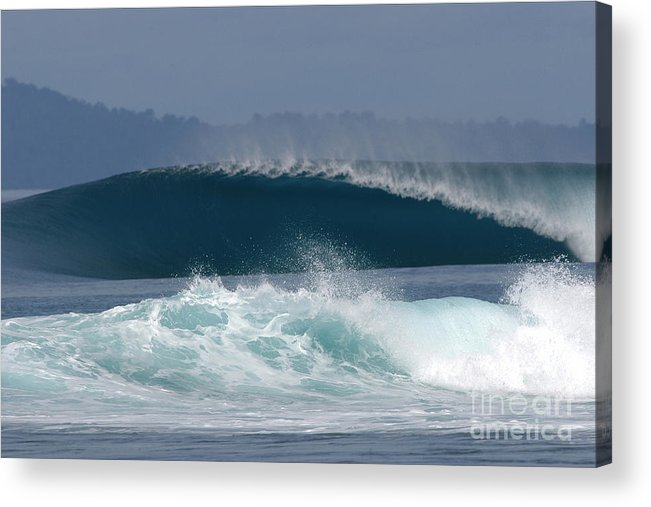 Sea Acrylic Print featuring the painting Indo by Addison Fitzgerald