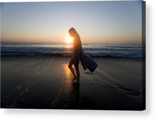 Alone Acrylic Print featuring the photograph Introspection by Brad Rickerby