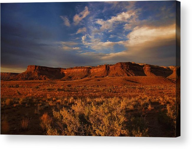 Canyonlands Acrylic Print featuring the photograph Island In The Sky by Nick Roberts