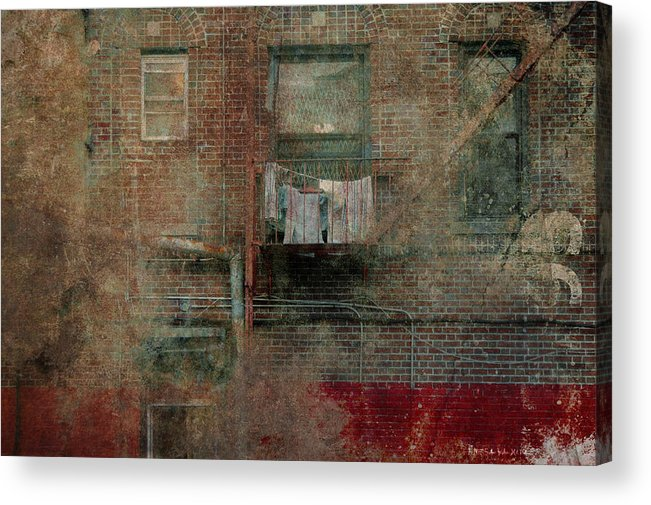 Building Acrylic Print featuring the photograph Islands Of Memory by Inesa Kayuta