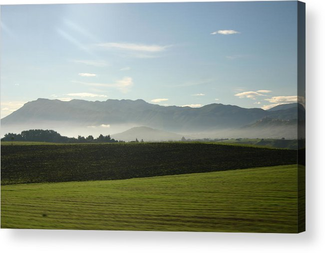 Landscape Acrylic Print featuring the photograph Italy's Country Side by Dennis Curry