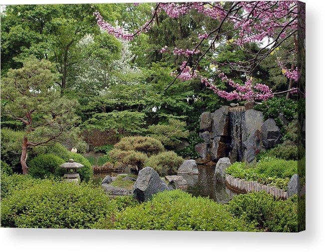 Japanese Garden Acrylic Print featuring the photograph Japanese Garden II by Kathy Schumann