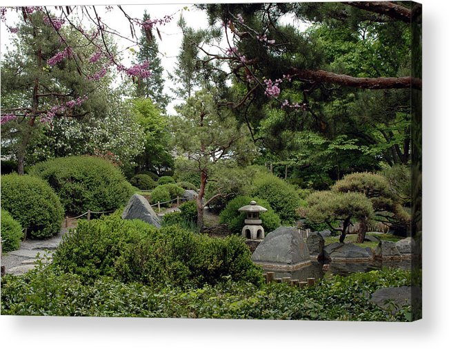 Japanese Garden Acrylic Print featuring the photograph Japanese Garden IIi by Kathy Schumann