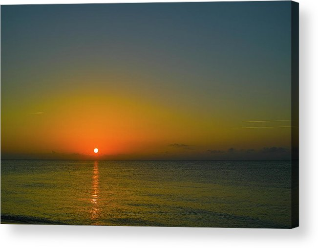 Sunrise Acrylic Print featuring the photograph Justified Narcissism by Roberto Aloi