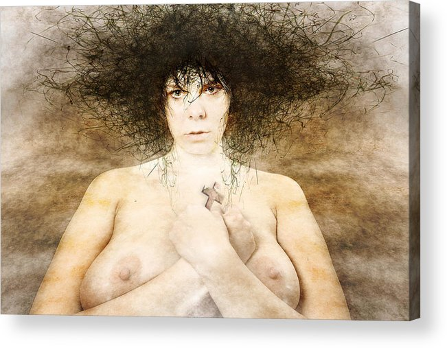 Acrylic Print featuring the photograph Katechist by Zygmunt Kozimor