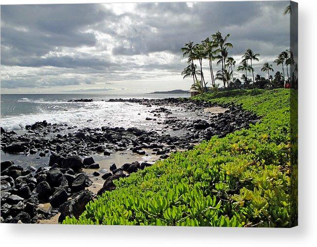 Kauai Acrylic Print featuring the photograph Kauai Afternoon by Robert Meyers-Lussier