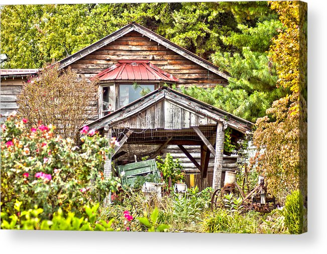 Country Acrylic Print featuring the photograph Kentucky Country by Annette Persinger
