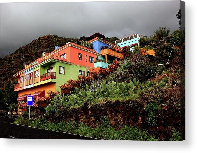 Palma Acrylic Print featuring the photograph La Palma, Canary Island by Heinz Tschanz-Hofmann