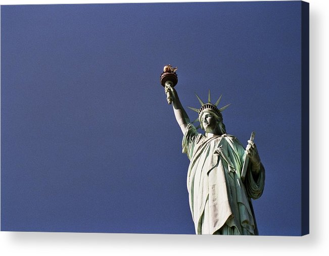 Statue Of Liberty Acrylic Print featuring the photograph Lady Liberty 5 by Allen Beatty