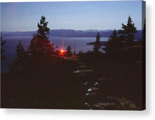 Landscape Acrylic Print featuring the photograph Lake Tahoe by Steven Wirth