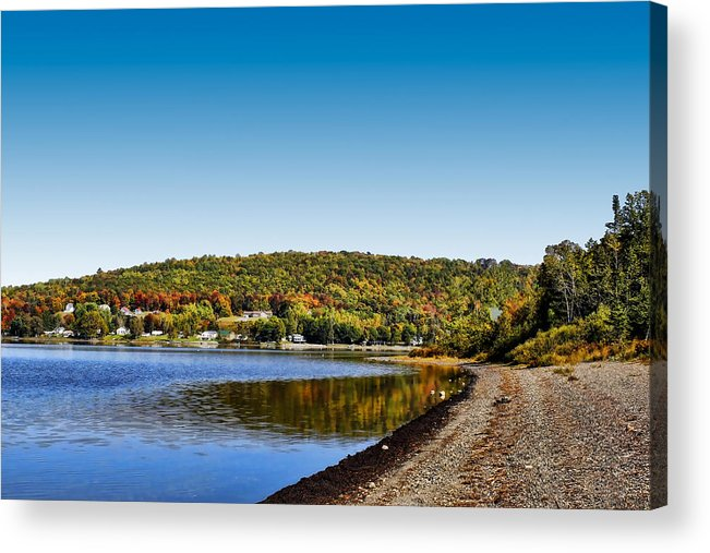 Lake Acrylic Print featuring the photograph Lakeside Portage by Gary Smith