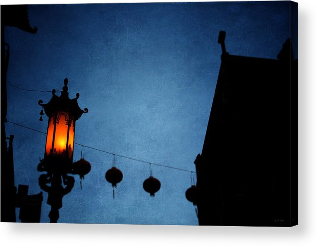Lanterns Acrylic Print featuring the photograph Lanterns- Art By Linda Woods by Linda Woods