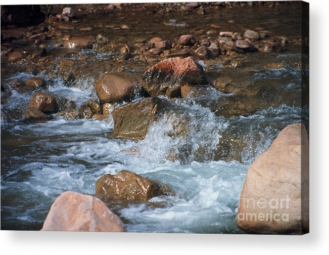 Creek Acrylic Print featuring the photograph Laughing Water by Kathy McClure