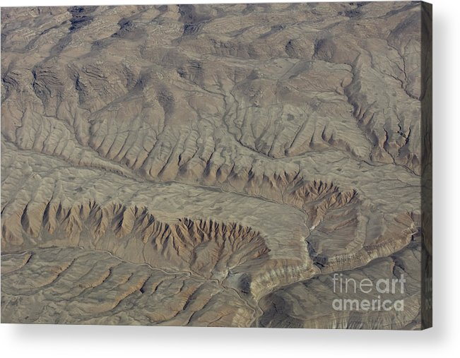 Layer Acrylic Print featuring the photograph Layers Of Erosion by Tim Grams