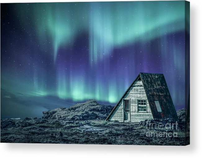Aurora Acrylic Print featuring the photograph Light Up My Darkness by Evelina Kremsdorf